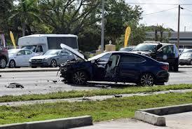 acura and ferrari collide in fatal crash on s tamiami trail