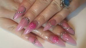 uv gel nails using missubeautynetwork com new pink builder gel