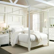 beds wood canopy bed frame full king size white queen wood