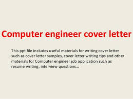 computer software engineer cover letter