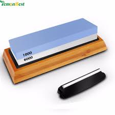 6000 1000 double sided kitchen knife sharpener stone whetstones