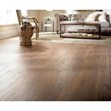 Waterproof Laminate Flooring Home Depot Home Decorators Collection Distressed Brown Hickory 12 Mm Thick X