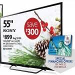 sony xbr55x810c black friday sony 55 inch 120hz 4k smart led tv xbr55x810c for 899 00 at aafes