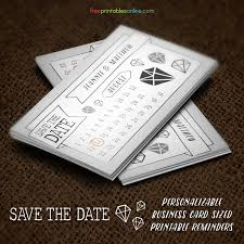 Free Save The Date Cards Free Save The Date Business Card Template Free Printables Online