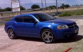 2008 blue dodge avenger ygonzalez10 2008 dodge avengersxt sedan 4d specs photos