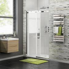1200mm Shower Door by 1200 X 700 Frameless 8mm Sliding Easy Clean Glass Shower Enclosure