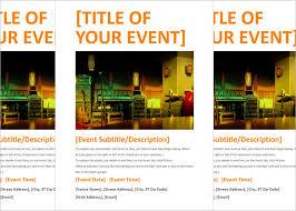 free event flyer templates word u2022 az photos
