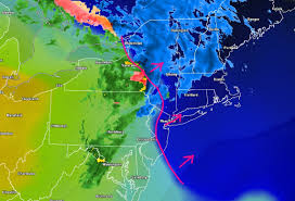 Frontal Boundary Map Public Analysis Unsettled Weather Along A Series Of Frontal