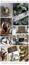 holiday inspiration winter lodge crafts decking and rustic