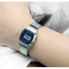 casio donna piccolo casio collection orologio donna digitale con bracciale in