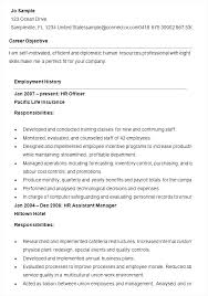 hr resume template human resource generalist resume hr resume template hr resume