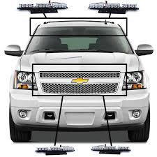 roof rack emergency light bar auto parts