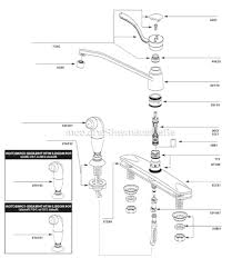 moen single handle faucet repair 7400 parts diagram kitchen