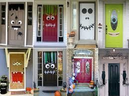 front door halloween decorations halloween decorating from the