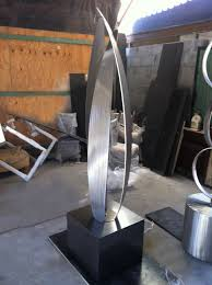 terra sculpture modern abstract outdoor sculpture studio terra