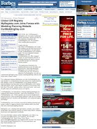 my registry wedding news and press releases myregistry