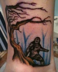 my sasquatch tattoo i know i u0027m weird bigfootisreal ibelieve