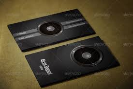 Business Card Music Music Business Card By Vortexdesign Graphicriver