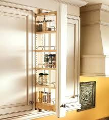 spice rack cabinet insert spice rack cabinet inserts pull out spice racks for kitchen cabinets