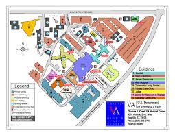 Amarillo Texas Map Parking Amarillo Va Health Care System