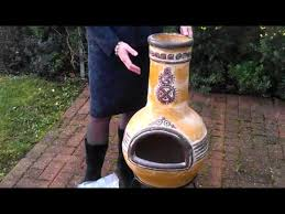Paint For Chiminea Clay Chiminea Repair Chimineashop Co Uk Youtube
