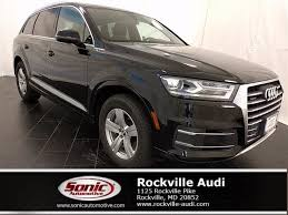 audi rockville certified used 2017 audi q7 for sale in rockville md stock