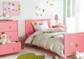 Girls Pink Rug Bedroom Contemporary Design For Girls Kids Bedroom With White