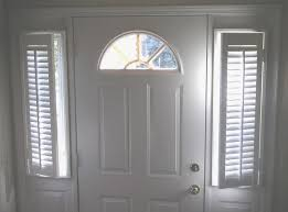 Sidelight Panel Blinds Sidelight Window Treatments Provide Light Control And Privacy