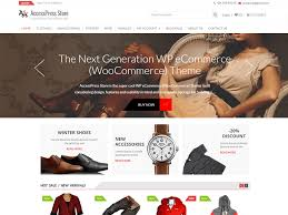 woocommerce themes store accesspress store free wordpress themes