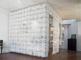 Hanging Room Divider Walls Interiors White Hanging Room Dividers For Living Room