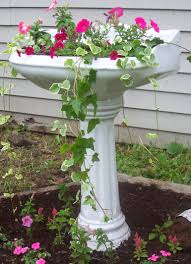 Buy A Planter Pedestal Sink Repurposed As Planter Gabby U0027s Garden Pinterest