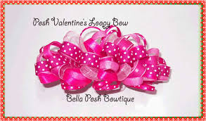 loopy bow posh bowtique hair bows pillowcase dresses cloth pads