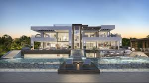 modern villa new build luxury modern villa for sale private pool tennis