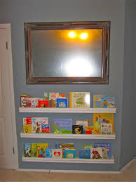 16 nursery wall bookshelves to make your children love reading