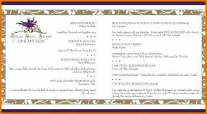 10 event program booklet template plantemplate info