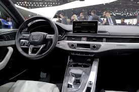 audi a4 2016 interior audi shows off a4 sedan u0026 allroad quattro at naias 2016