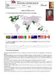english teaching worksheets speaking tests
