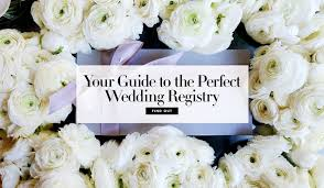 wedding regestries wedding registry and bridal gift news inside weddings