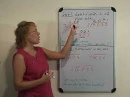 long division how to teach it step by step youtube