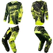 oneal element motocross boots oneal element enigma neon motocross off road dirtbike gear jersey