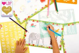 31 off creativ u0027 craft large drawing stencils art set for kids