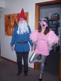 Lawn Gnome Halloween Costume Coolest Lawn Ornaments Couple Costume Flamingo Gnome Lawn