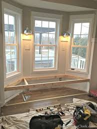 kitchen bay window seating ideas steps to building a window seat a dream of mine for years finally