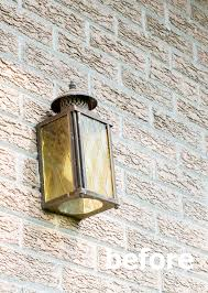 updating exterior lighting giveaway in my own style