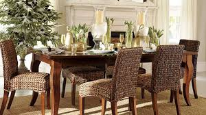 dining room dark brown wicker dining chairs for minimalist dining