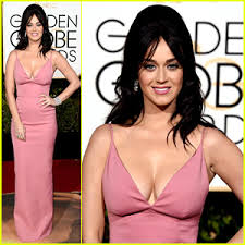 bump it katy pery completes golden globes hair with a bump it 2016