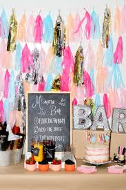 Ideas For Bridal Shower by How To Make A Mimosa Bar Bridal Shower Ideas