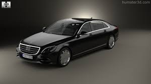 360 view of mercedes benz s class w222 maybach 2016 3d model
