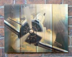 Aviation Home Decor Airplane Wood Outdoor Wall Art Aviation Art Airplane Wall Art