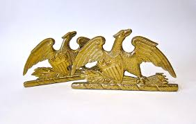 Virginia Metalcrafters Chandelier Va Metalcrafters Vintage Eagle Bookends Omero Home